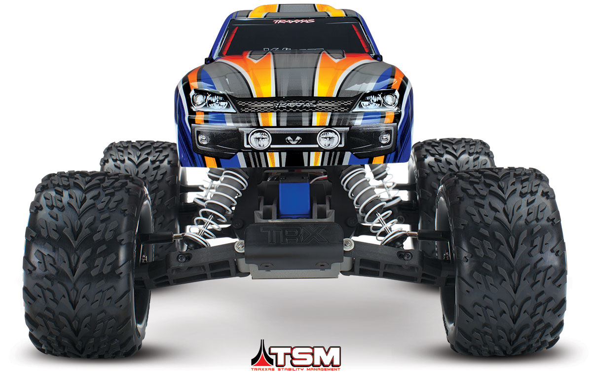 Traxxas 360763T4 Stampede VXL, RTR, TSM, w out Module, Blue by TRAXXAS