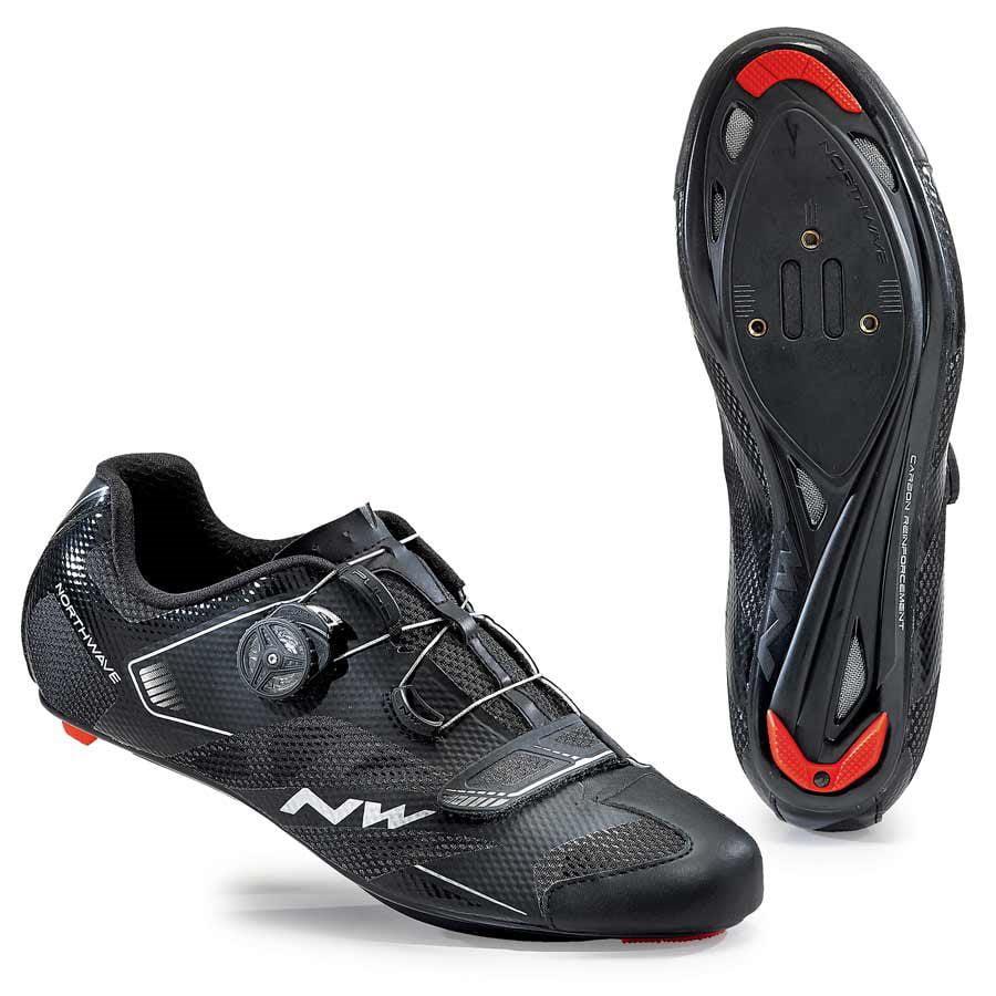 Northwave, Sonic 2 PLUS ,Road shoes, Black, 45