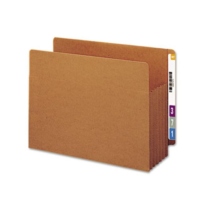 Smead 73790 Tuff Pocket 5 1/4   Expansion File Pockets  Straight  Letter  Redrope  10/Box