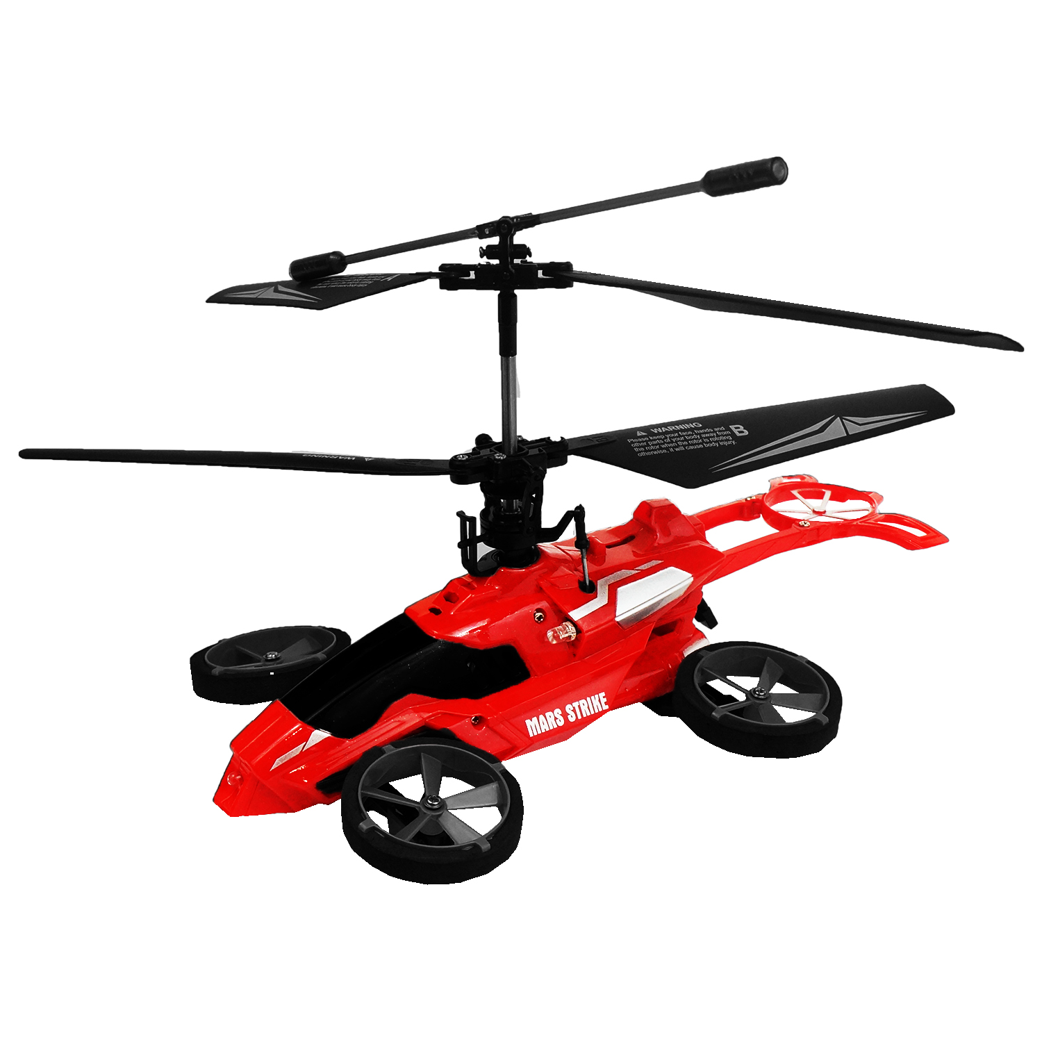 AWW Industries Mars Strike Radio Control 3.5 Channel RC Transforming Helicopter