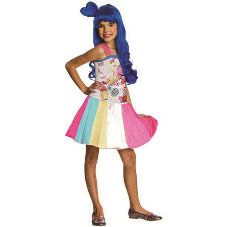 Child Katy Perry Candy Girl Costume - Katy Perry California Girls Costume