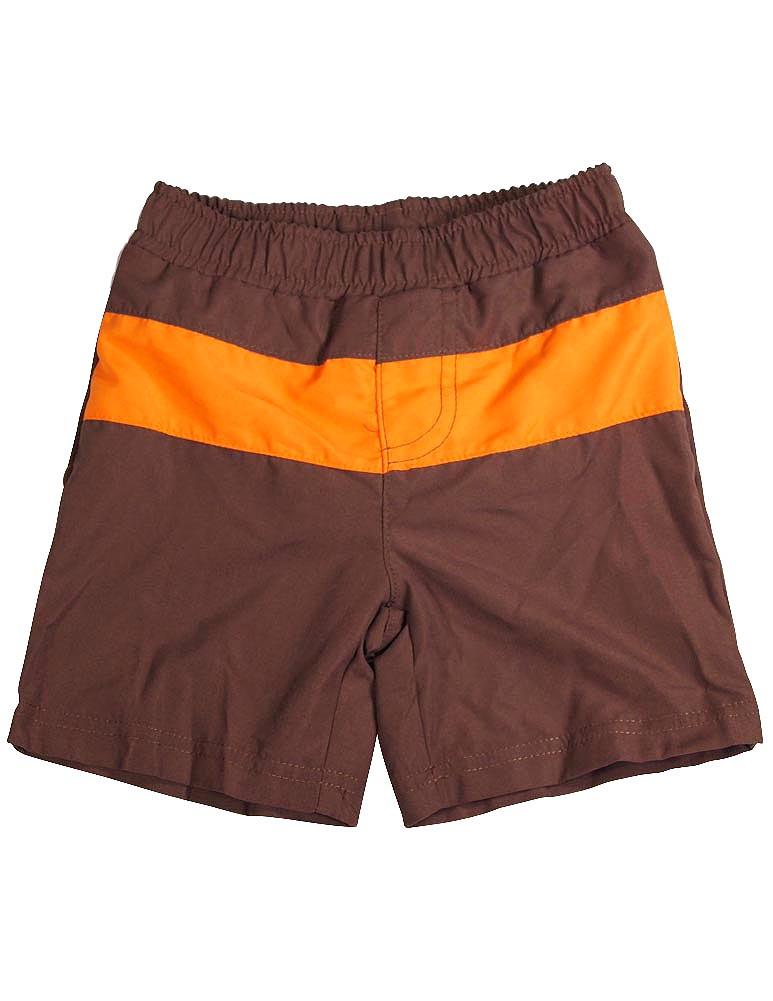 Bunz Kidz - Baby Boys Swimsuit brown orange / 24 Months