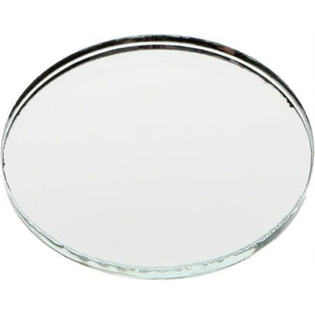 No Bevel Glass Mirror, Round 3mm- 1.5