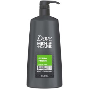 Dove Men+Care Extra Fresh Body and Face Wash, 23.5 oz