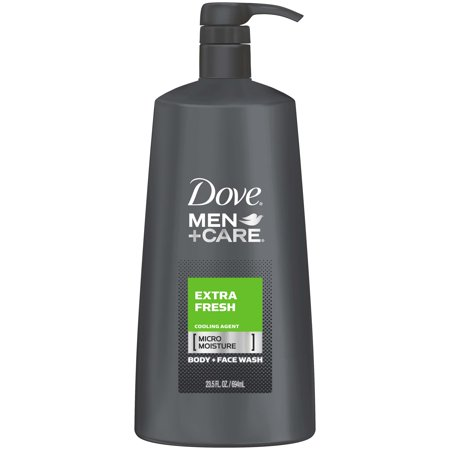Dove Men+Care Extra Fresh Body and Face Wash, 23.5 oz](Fake Body)