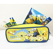 7pc Disney Minions Stationery Set Party Favor School Supplies Gift Yellow