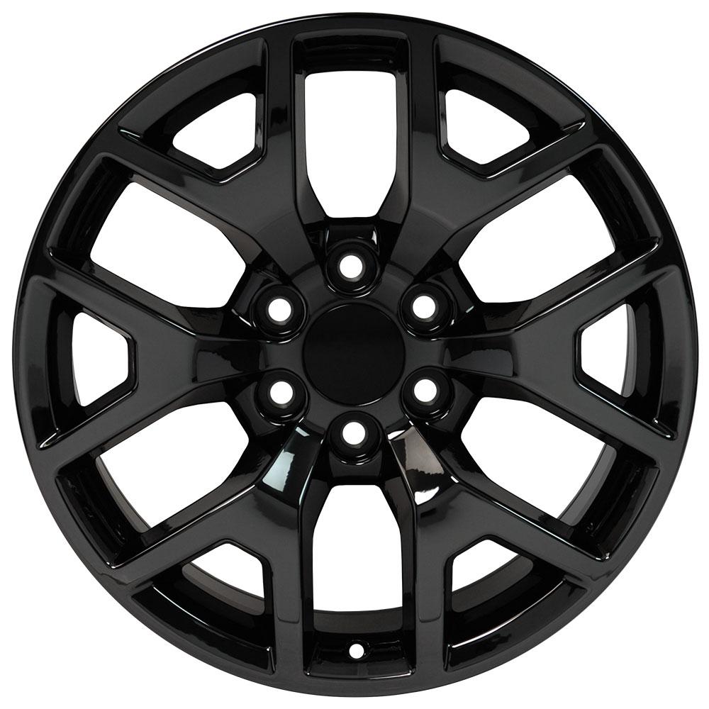 22x9 Wheels Fit 6 Lug Gm Trucks And Suvs