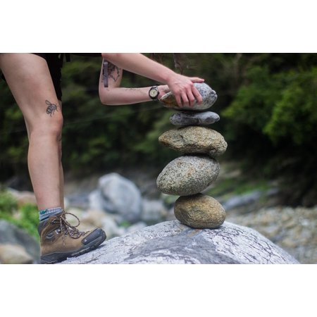 Canvas Print Legs Tattoo Adventure Footwear Travel Shoe People Stretched Canvas 10 x 14