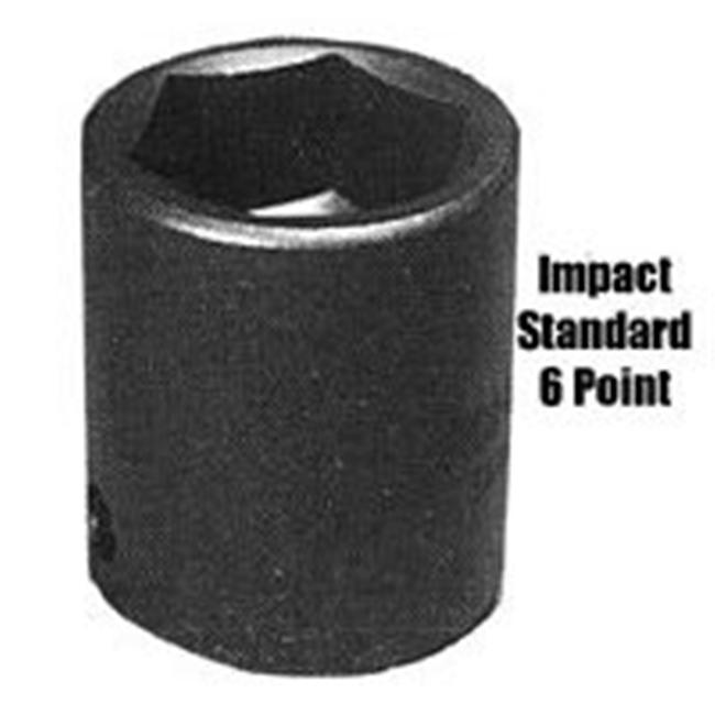 Sunex SUN554 1 Inch Drive Standard 6 Point Impact Socket - 1-11/16 Inch - image 1 of 1