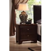 Coaster Home Furnishings 200422 Casual Contemporary Nightstand, Walnut