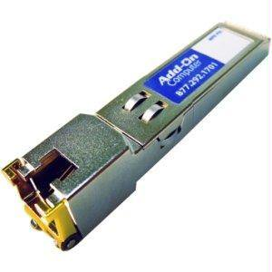 Addon Périphériques informatiques addon Cisco Ds-sfp-ge-t Compatible Taa Conforme 1000Base-tx Sfp Trans - image 1 de 1