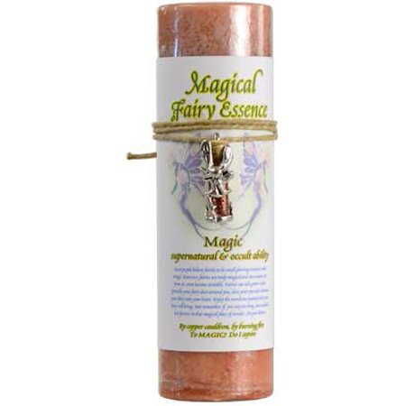 - AzureGreen CP17MA Magic Pillar Candle with Fairy Dust