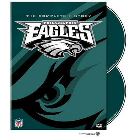 The Complete History of the Philadelphia Eagles (DVD)