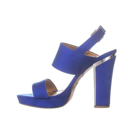 Report Ladia Block Heel Pumps, Blue - image 2 of 6