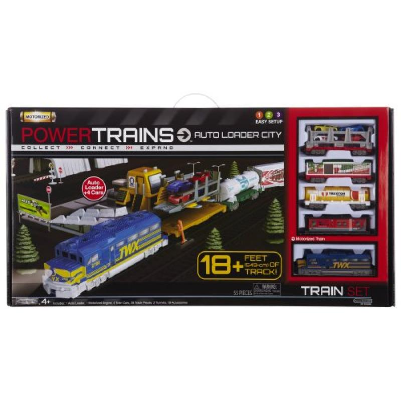 JAKKS Power City Trains Auto Loader City