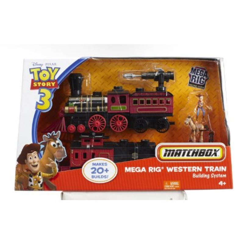 Toy Story Matchbox Western Train Mega Rig Building System Makes 20 Builds Woody by