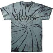 Doors Men's  Classic Logo Tie Dye T-shirt Tie-Dyed