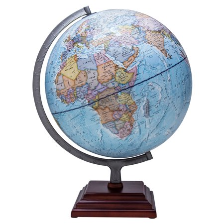 Illuminated Desk Globe - Waypoint Geographic Odyssey II Illuminated Desktop Globe