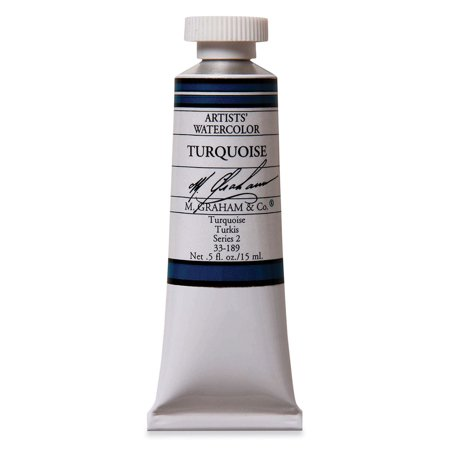 M. Graham Artists' Watercolor - Turquoise, 15 ml Tube ()