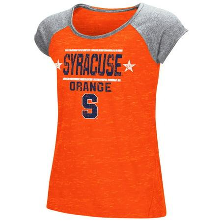 Youth Girl's Sprints Short Sleeve Syracuse University Tee Shirt (Syracuse University Halloween Party)