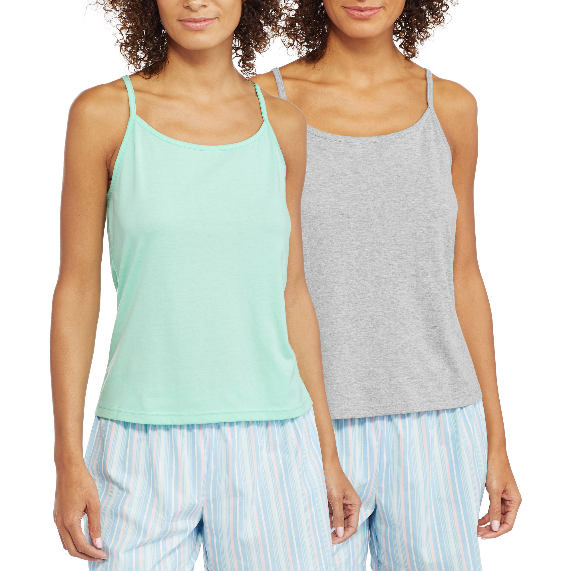 Hanes Women's Knit Sleep Cami - 2 Pack