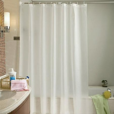 Shower Curtain Bathroom Mold Resistant Translucent Waterproof Vinyl