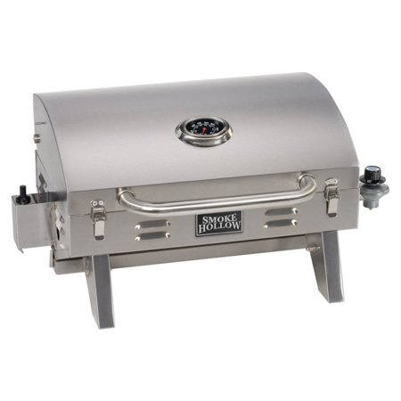 Smoke Hollow Stainless Steel Tailgate & Portable (Solaire Stainless Steel Portable Grill)