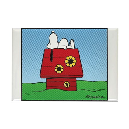CafePress - Wall Flowers - Rectangle Magnet, 2