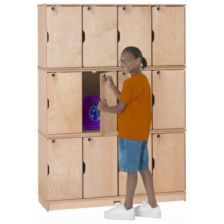 Jonti Craft Triple Stack Stacking Lockable Lockers