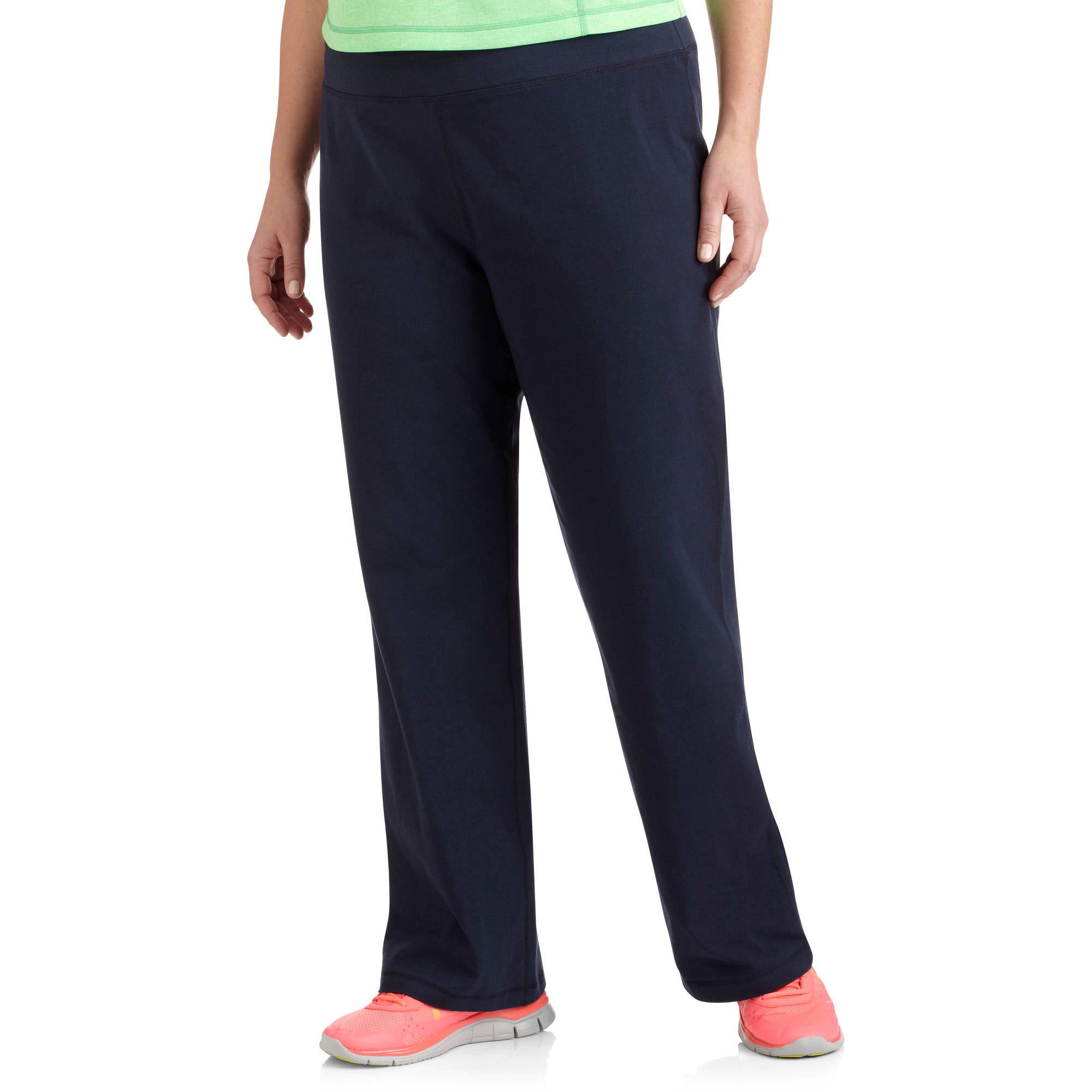 Danskin Now Women's Plus Size Dri More Core Bootcut Workout Pants