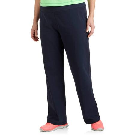 c9a4c769b2f Women s Plus-Size Dri-More Core Bootcut Workout Pants 2-Pack ...