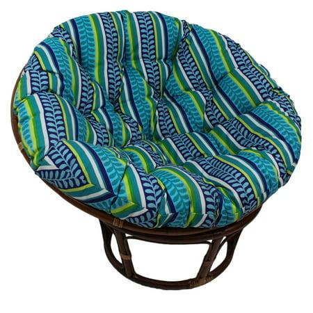 International Caravan Bali 42 in. Papasan Chair with Cushion ()