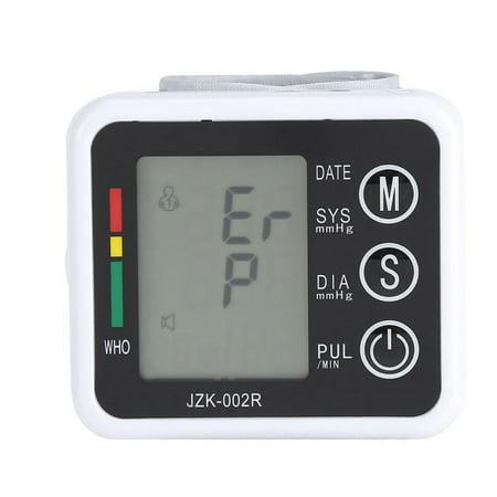 Cuff Display - Portable Wrist Blood Pressure Cuff Monitor with Large Display Digital Automatic Blood Pressure Cuff Machine