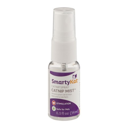 Smartykat Catnip Mist Catnip Spray  0 5 Fl Oz