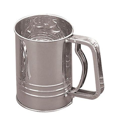 Fox Run 4653 Flour Sifter, 3-Cup, Stainless Steel by Fox Run Craftsmen