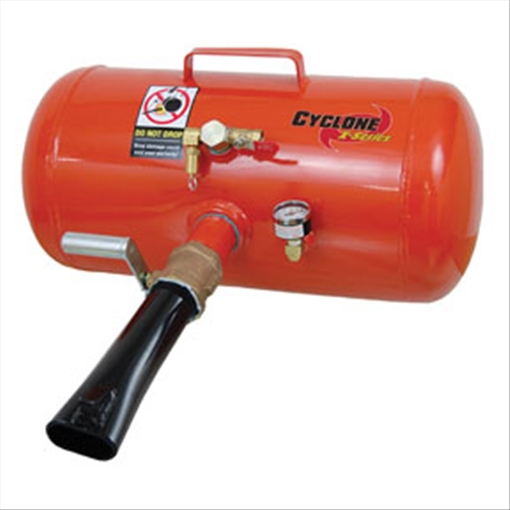 Esco Cyclone X-Series Bead Seater Model# 20391-N 8-Gallon Steel Tank