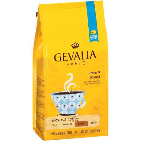 Gevalia Kaffe French Dark Roast Ground Coffee, 12 OZ (340g)