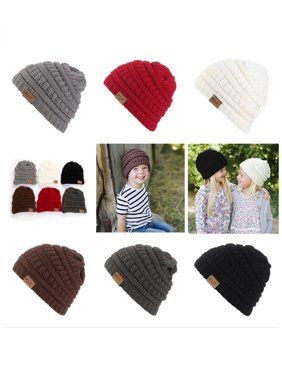 2188cb75cc8 Product Image Outdoor Warm All-match Toddler Baby Boy Girl Beanie Hat  Winter Knitted Ski Cap