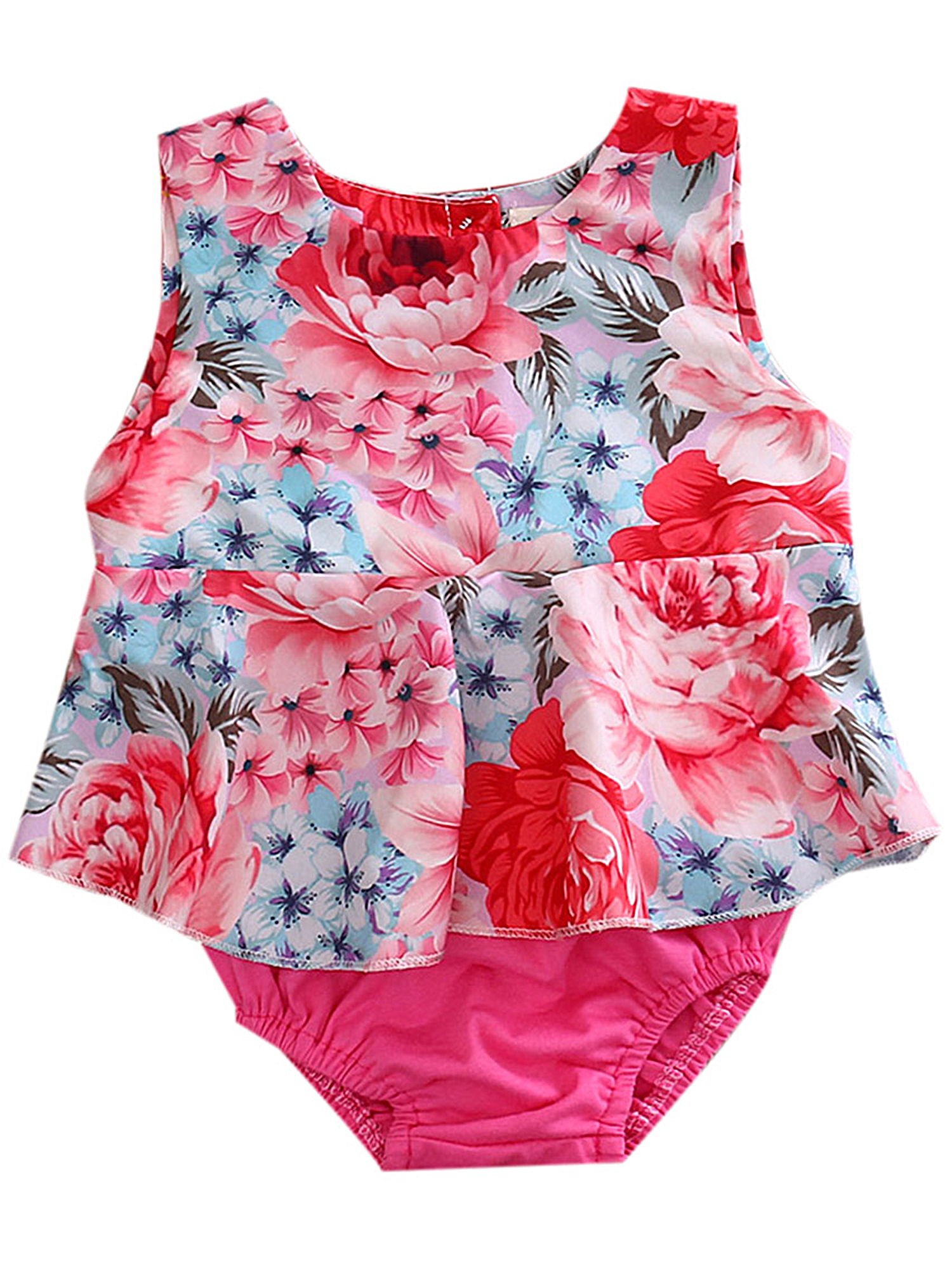 citgeett - Infant Baby Girl Clothes Cute Floral Print ...
