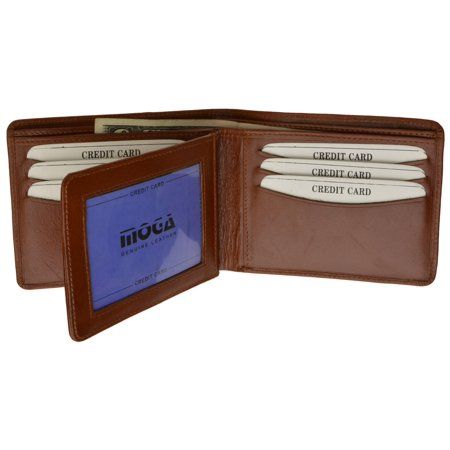 Brown Signature Flap (MOGA Bifold With Flap )