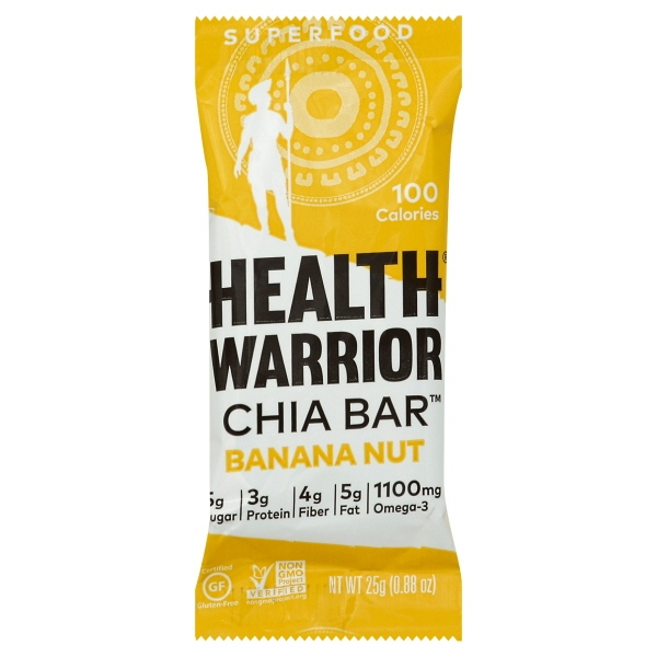 Health Warrior Health Warrior  Chia Bar, 0.88 oz