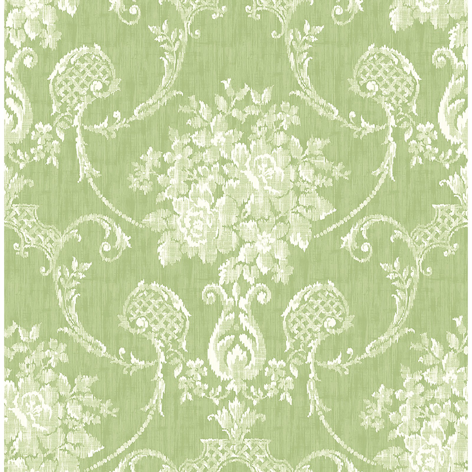 A - Street Prints Mirabelle Winsome Floral Damask Wallpaper