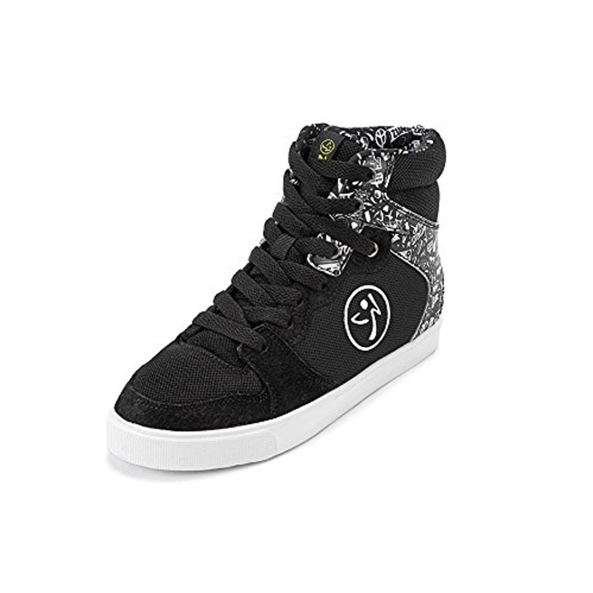 Zumba Womens Crew Street Charge Leather High Top Dance Shoes by Zumba