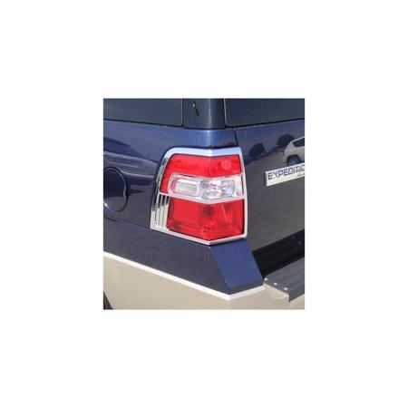 Putco 400864 Tail Light Trim For Ford Expedition, (Putco Chrome)