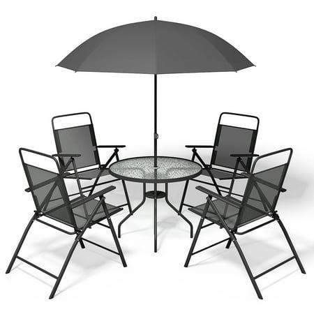 6pcs Patio Furniture Garden Set