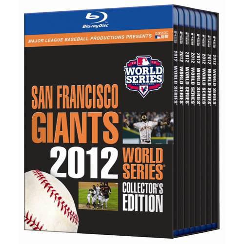 MLB: San Francisco Giants - 2012 World Series Collector's Edition (Blu-ray)