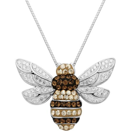 silver jewellery bee sterling bumblebee krausz product necklace