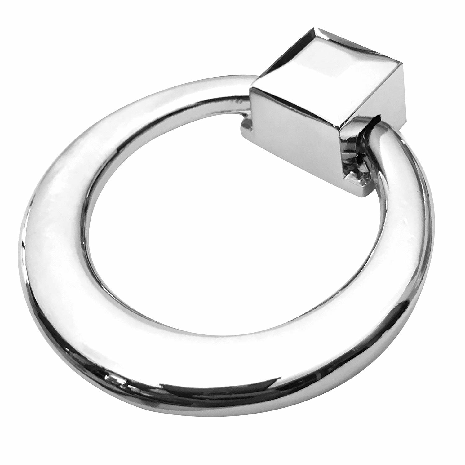 Southern Hills Chrome Ring Pulls Pack Of 5 Drawer Pulls Cabinet Door Pulls Cabinet Drawer Pulls Polished Chrome Ring Pulls Perfect For Kitchen And Bath Cabinets And Furniture Shkm3282 Chr 5 Walmart Com