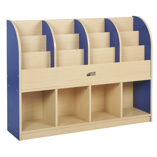 ECR4KIDS CE Single-Sided Standard Book Stand, Multiple Colors