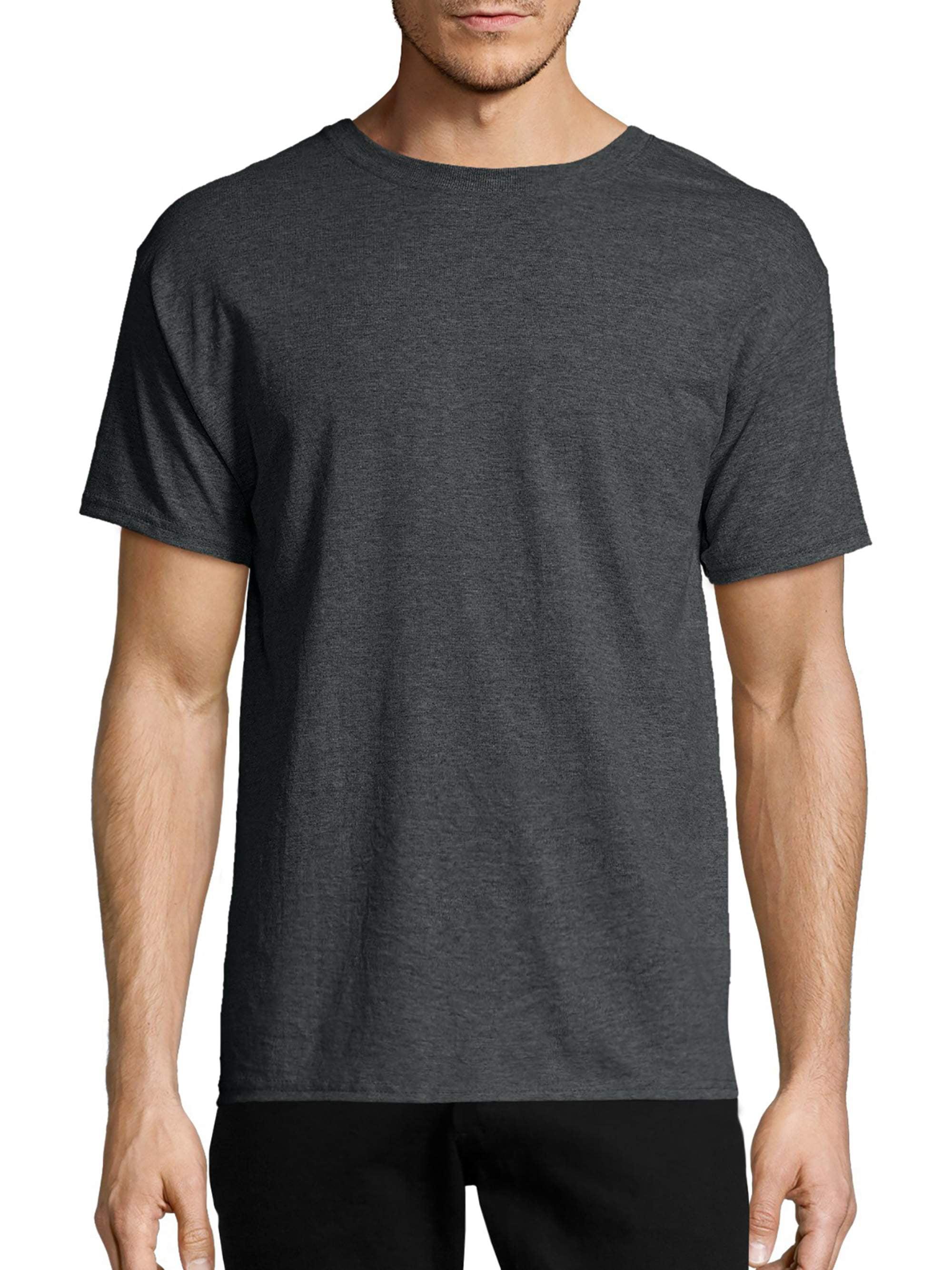 73facfbfb8c Men's EcoSmart Soft Jersey Fabric Short Sleeve T-shirt - Walmart.com